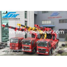 Hot sale hydraulic truck crane