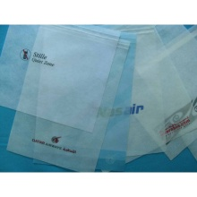 Disposable Airline Non Woven Headrest Cover For Airplane