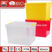 6PCS Kunststoff-Lebensmittel Vorratsbehälter mit vier Seitensperre
