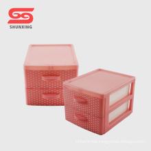 mini desktop drawer pp storage box with good price