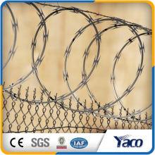 Rasiermesserstacheldrahtgefängnispreis-Sicherheitszaun für das Tor, das Maschine herstellt