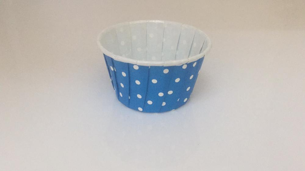 Roll edge Bakery Muffin Cup with Printing