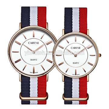 Montre à quartz en gros de mouvement de prix japonais, prix de montre des hommes Chine fournisseur