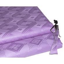 Feitex Royal Diamond tela de algodón crudo Material tela Soft Fashion Guinea Brocade para vestido de mujer bordado