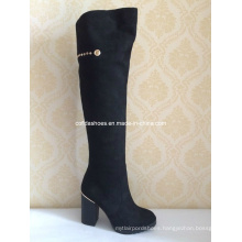 Fashion Ladies High Heels Winter Long Boots