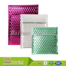 Envíos metálicos decorativos modificados para requisitos particulares modificados para requisitos particulares del envío del sobre de Glamor Bubble
