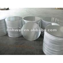 Círculos de alumínio para utensílios de panela e panela