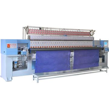 Máquina de estofamento de bordados computadorizada para bolsas, colchas, vestuário