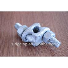 clipes de cabo de aço galvanizado