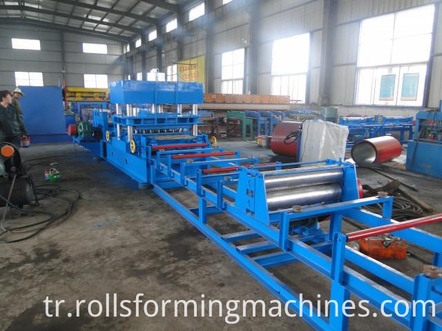 table for Freeway Steel Guardrail Forming Machine