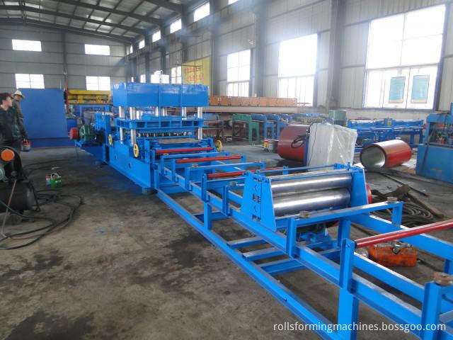 table for Road Barrier & Guardrail Making Machine
