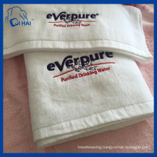100% Cotton Yarn Hotel Face Towel (QHAD4450)
