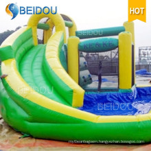 Factory Custom Outdoor Custom Cheap Giant Inflatable Adult Water Slide