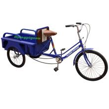 Günstige Stahl Box Gepäck Dreirad Trike (FP-TRCY024)