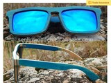 China factory wholesale handmade wooden sunglasses