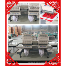 The Best Embroidery Machine Two head 15 Colors High speed 1200 SPM