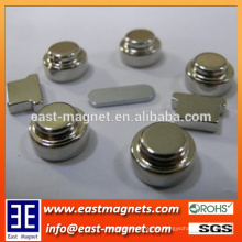 Kundenspezifische Knopfform Neodymmagnet / besonders angefertigte spezielle geformte permenent Neodym NdFeB / unregelmäßige Form-Magneten