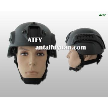 Capacete de kevlar à prova de balas militar e segurança policial