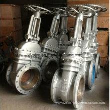 API600 Guss Carbon Stahl Wcb Flansch Ende HF-Schieberventil