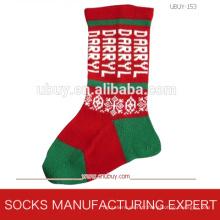 Chaussettes de mode pour le jour de Noël