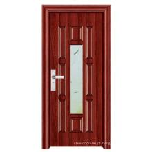 Fornecedor de China da porta do banheiro da porta do vidro (FD-1091)