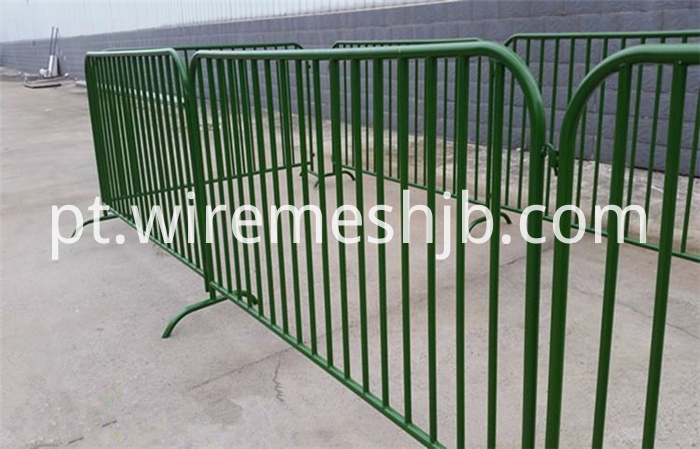 Temporary Mesh Fence