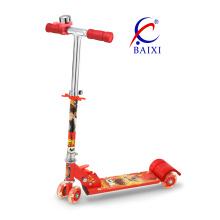 Kids Scooter avec 4 roues de PVC 70mm (BX-4M001)