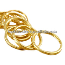 Fashion High Quality Metal Brass Split Ring