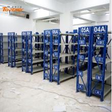 estante del almacén del deber del medio revestido del polvo de alta calidad