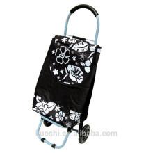 sac de chariot à achats pliable de marché à roues