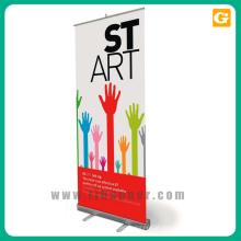 Promoção de publicidade retrátil pull up banner stand 80 * 200 cm