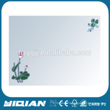 2015 new process rubber patch made in hangzhou tall floor mirror