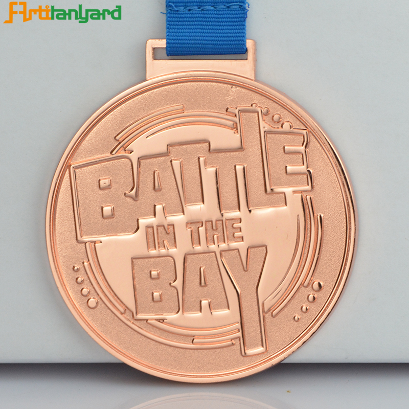 Medal With Embossed Logo