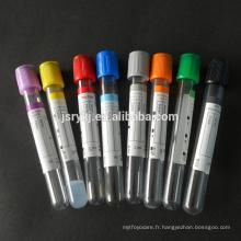 Usine de tubes de collecte de sang de PET de bonne qualité avec certificat CE ISO