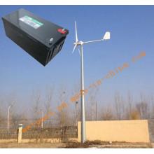 10kw Sistema de generador de energía eólica para uso en casa o en la granja Sistema fuera de red GEL BATERÍA 12V200AH