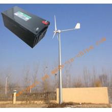 Système de générateur d'énergie éolienne 10kw pour usage domestique ou agricole Système hors réseau GEL BATTERIE 12V200AH