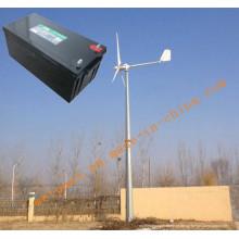 Sistema de gerador de energia eólica 10kw para uso doméstico ou agrícola Sistema fora da rede GEL BATTERY 12V200AH