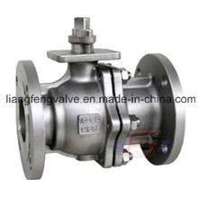 JIS Flange End Stainless Steel Ball Valve with Flange End