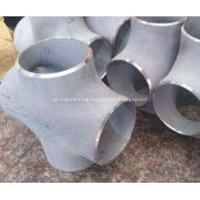 ANSI ASME B16.9 Butt Weld Stainless Steel Cross