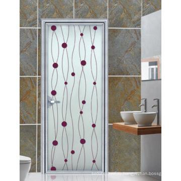 Меламин деревянная дверь (ЖЛ-Eh006)
