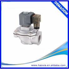 Material de aleación de control de solenoide de 2/2 vías Válvula neumática de chorro de pulso