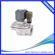 Material de liga de controle de solenóide de 2/2 vias Válvula pneumática de jato de pulso
