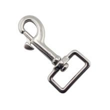 Болт карабин с квадратным основанием поворотный собачий крюк