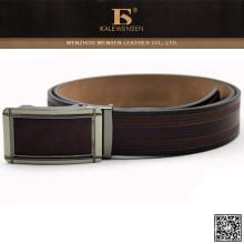2015 Cinturón de cuero de la hebilla automática formal más nueva de la manera para los hombres