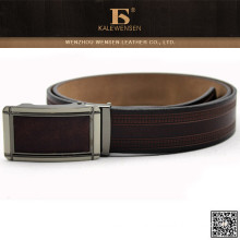 2015 Latest fashion formal automatic buckle leather belt for men