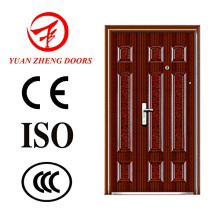 Front Steel Double Door with Single Frame