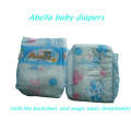 L Size Top Sell Newest PE Backsheet Magic Tapes Baby Diapers