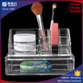 Two Layer Acrylic Clear Cosmetic Organizer, Nail Organizer