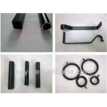 Popular outdoor cast iron curtains rods and accessories