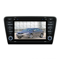 Windows CE Car DVD Player for 2014 Skoda Octavia (TS8972)